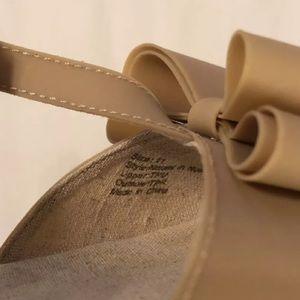 b0632696157 Joyfolie Shoes - Joyfolie Naomi nude bow sandals